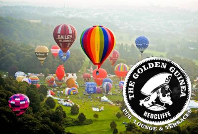 Bristol Balloon Fiesta and The Golden Guinea