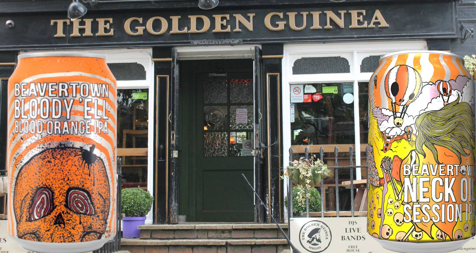 The Golden Guinea will be offering some amazing beers!